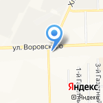 Магазин крепежа на карте Кирова