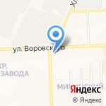 ВММ на карте Кирова