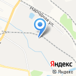 Домовёнок на карте Кирова