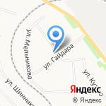 Средняя общеобразовательная школа №45 им. А.П. Гайдара на карте Кирова