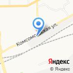 Стеклофабрика на карте Кирова