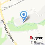 Резерв на карте Кирова