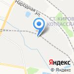 Вихрь на карте Кирова