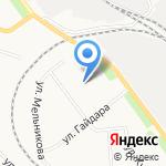 Лицей естественных наук на карте Кирова