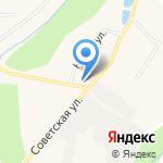 Универсам на карте Кирова