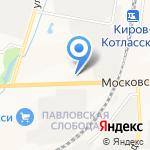 На колесах 43 на карте Кирова