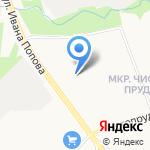 Ромашка на карте Кирова
