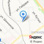 Стэфани на карте Кирова