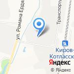 Огни Вятки на карте Кирова