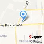 Дилижанс на карте Кирова