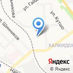 Детский сад №191 на карте Кирова