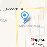 Всероссийское общество слепых ордена Трудового Красного знамени на карте Кирова