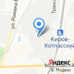 Кировская областная станция по борьбе с болезнями животных на карте Кирова
