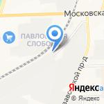 Кировский мелькомбинат на карте Кирова