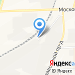 ХИМСТАНДАРТ на карте Кирова