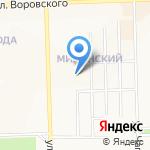 Тэрос на карте Кирова