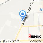 Киоск по продаже мяса птицы на карте Кирова