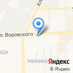 Print сервис на карте Кирова