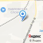 Северная лесная компания на карте Кирова