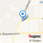 Кристалл-электро на карте Кирова