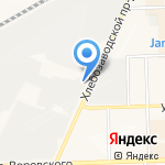 Идеал Строй на карте Кирова