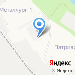Кировская трикотажная фабрика на карте Кирова