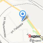 Центр творческого развития и гуманитарного образования детей на карте Кирова