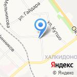 Монро на карте Кирова