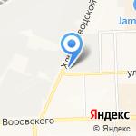 Вятхолодторг на карте Кирова