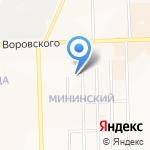 ИНТЕГРА на карте Кирова