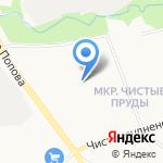 Разноцветная планета на карте Кирова