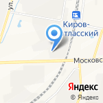 Оргалит-плюс на карте Кирова