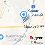 Талисман на карте Кирова