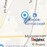 Мебельное ателье Плюс на карте Кирова