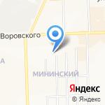 Фреш43 на карте Кирова