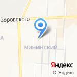 Линкс на карте Кирова