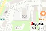 Схема проезда до компании ТехКомсервис в Кирове