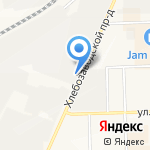 Компания Крантехснаб на карте Кирова