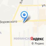 Садовый рай на карте Кирова