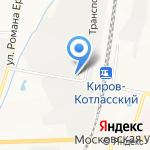 Вкусные продукты на карте Кирова