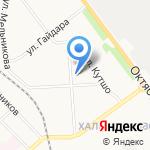 Участковый пункт полиции №17 на карте Кирова