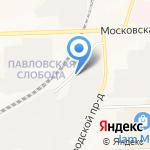 Монтажник на карте Кирова
