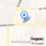 Следственный отдел по Октябрьскому району на карте Кирова