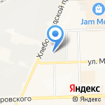 Клаксон на карте Кирова