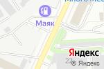 Схема проезда до компании Компания по производству стеклянных конструкций в Кирове