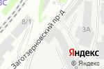 Схема проезда до компании Агата в Кирове