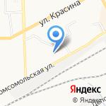 Счастливый малыш на карте Кирова