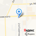 Детская библиотека №8 им. А.П. Гайдара на карте Кирова