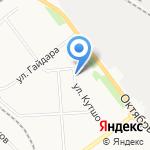 КУДЕСЫ на карте Кирова