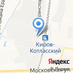 СтанкоВтормет на карте Кирова